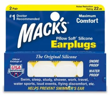 Mack's Pillowsoft - White - 2 Pair Box